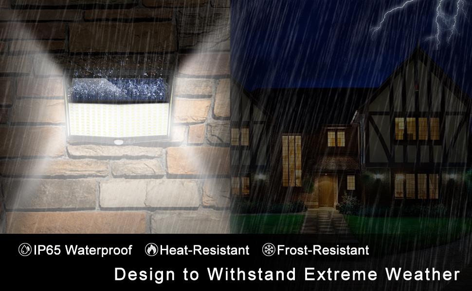 Waterproof Outdoor Security Light