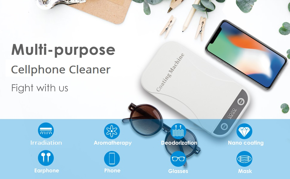 Cell Phone Cleaner Box