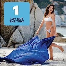 beach tent sun shelter pop up