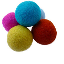 cat ball toys felted wool kitten natural nepal handcrafted women azo free safe premium quality best