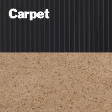 Carpet wd rib