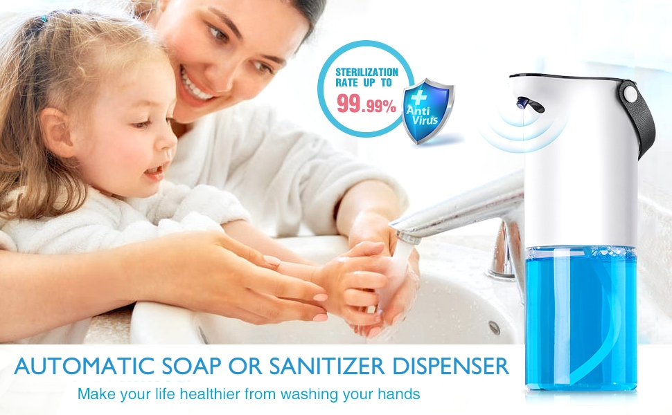 Automatic hand sanitizer sensor touchless machine  dispenser for home room office