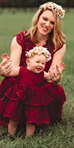 Newborn / Infant / Toddler / Baby Girls Party Dresses