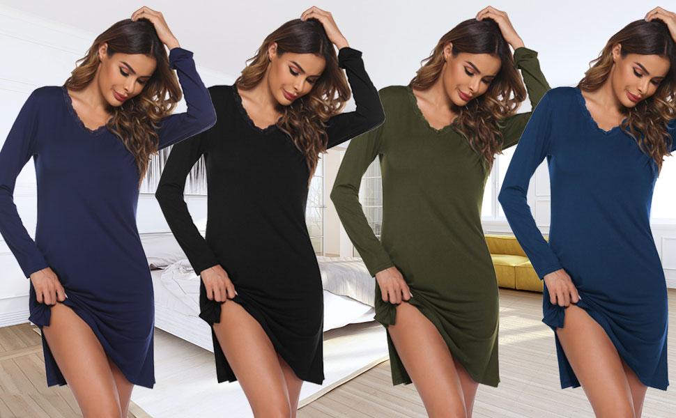 women nightgown nightshirt