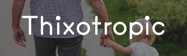 Thixotropic logo