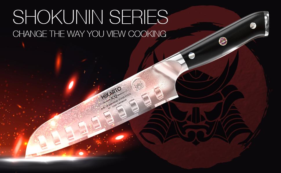 Santoku Japanese Chef Knife