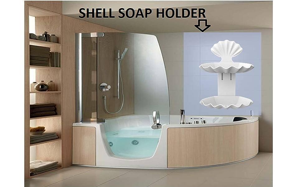 SHELL SOAP HOLDER
