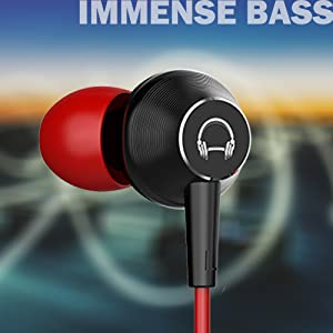 Imensive sound earphone dual driver earphone deep bass earphone deal of the day dj sale today dots