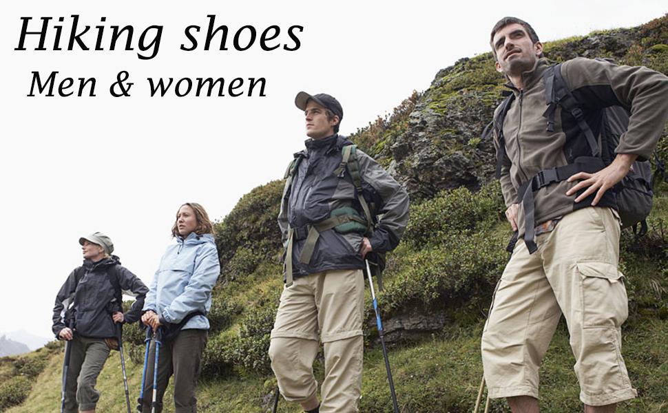 Unitysow Homme Femme Chaussures Montantes de Randonn/ée Non-Slip Outdoor Bottes de Marche Trekking descalade Escalade L/ég/ères Sneakers Unisexe Imperm/éable 39-47