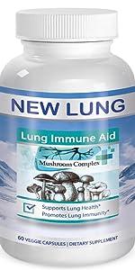 Mushroom Lung health