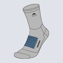 3/4 crew socks
