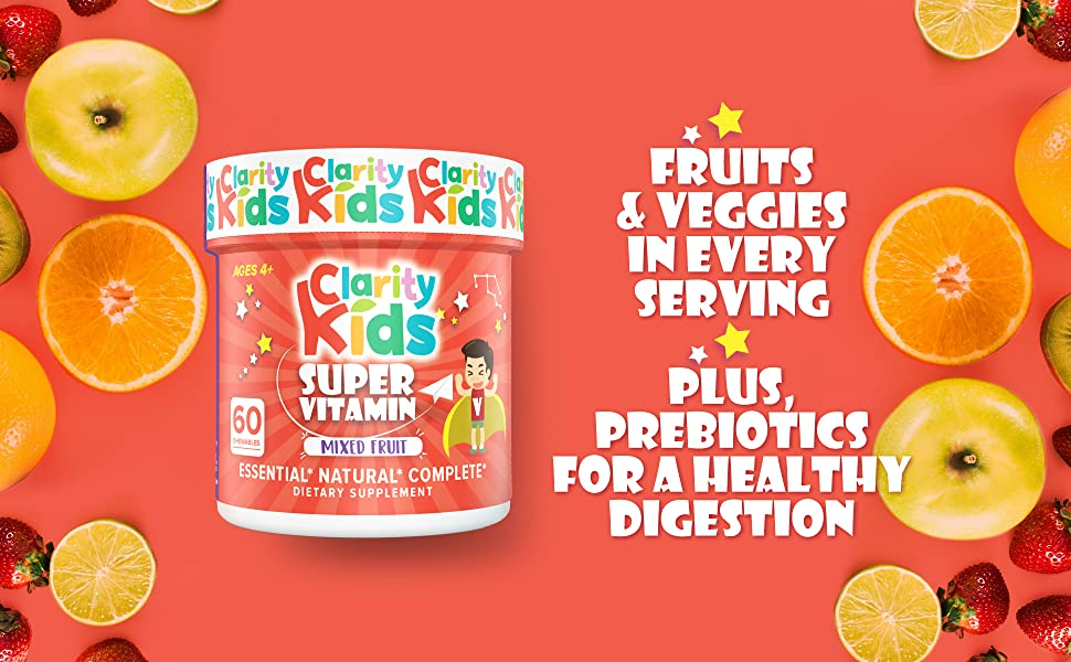 Clarity Kids Multivitamin
