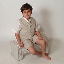 short set, linen, boy, outfit, casual, suit