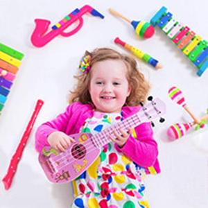"""17"""" pink ukulele toy"""