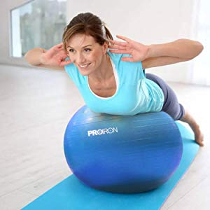 PROIRON Fitness Pelota de Ejercicio - Bola Suiza con Bomba de ...