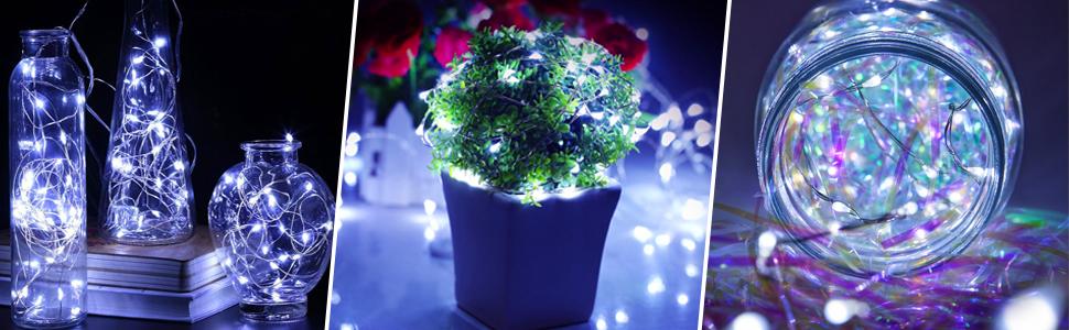 cool white fairy lights