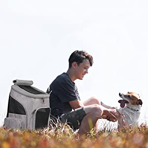 Dog Backpack Carrier for Small Dog