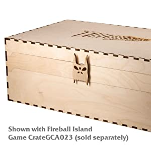 Shown with original crate