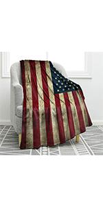 us flag blanket