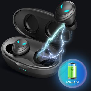 Powerful Battery Life & Charging Case
