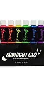 2 oz bottle 6 colors
