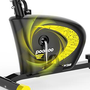 magnetic flywheel exercise bikes