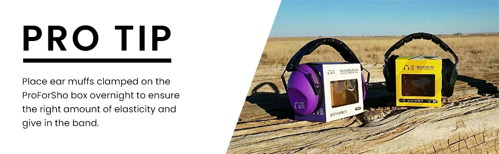 safety ear muff hearing protection