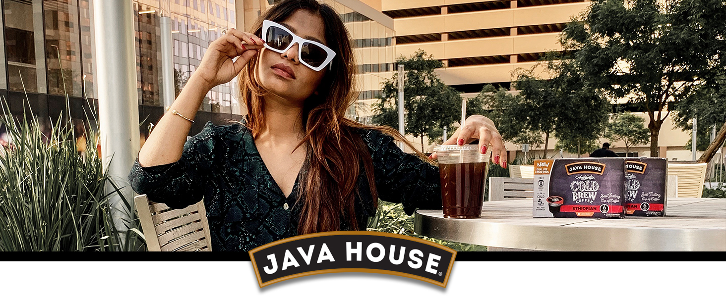 Java House Cold Brew Coffee pods