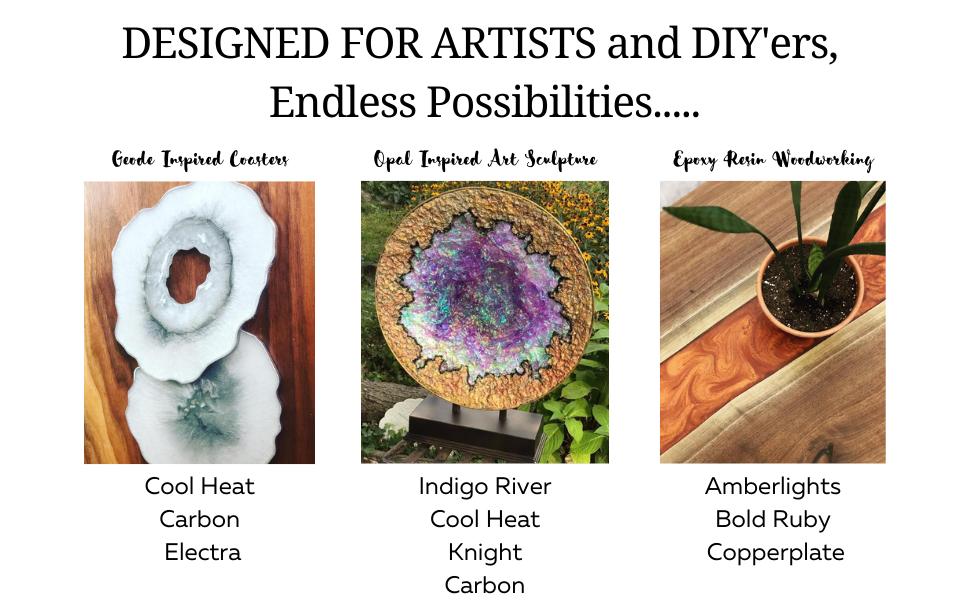 Epoxy Resin Color Pigment mica powder pigment resin color pearl pigment mica powder for epoxy