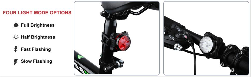 bike lights front and back