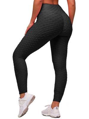 Jegging Taille Haute Cellulite Collants Yoga Fitness Gym RC-01 C//N Legging Femmes Pantalon Sport