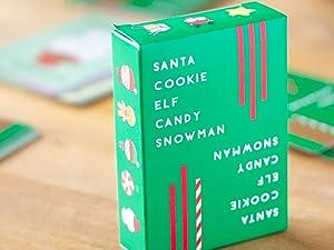 Santa Cookie Elf Candy Snowman
