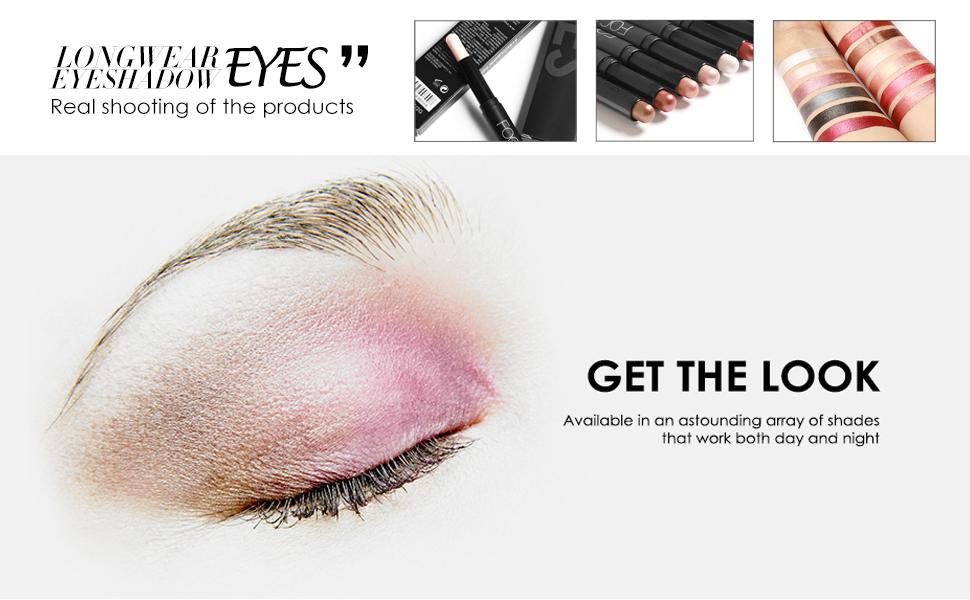 Waterproof Eye Shadow Pencil, Hypoallergenic Eyeshadow
