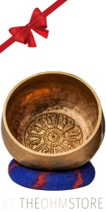 4-inch Tibetan Meditation Yoga Singing Bowl Set