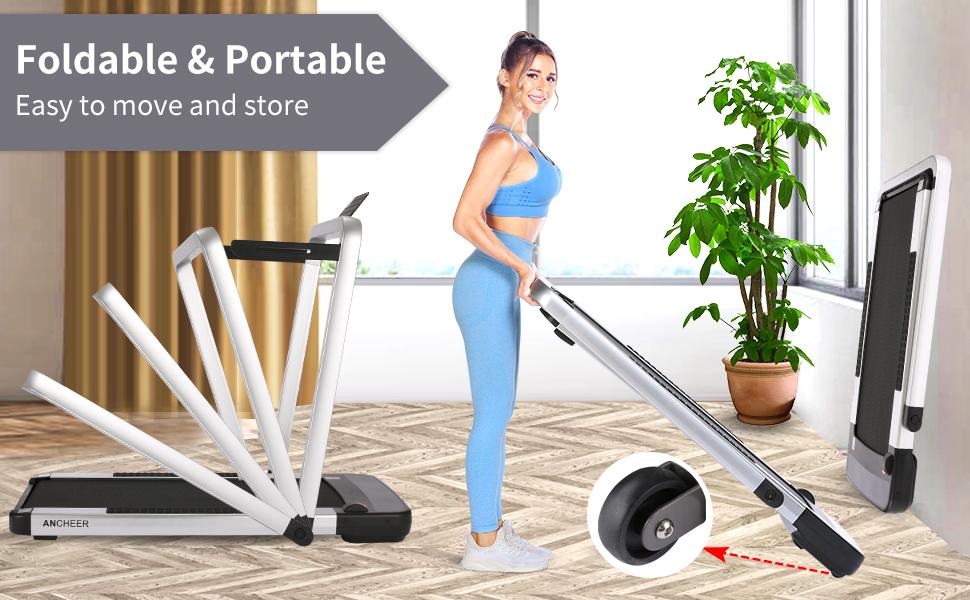 2 in 1 treadmill folding