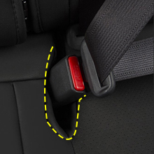 Seat belt slot