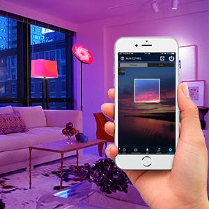 Camera Function Display Of Smart Wifi Floor Light