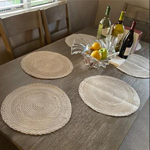 placemats for round oval table