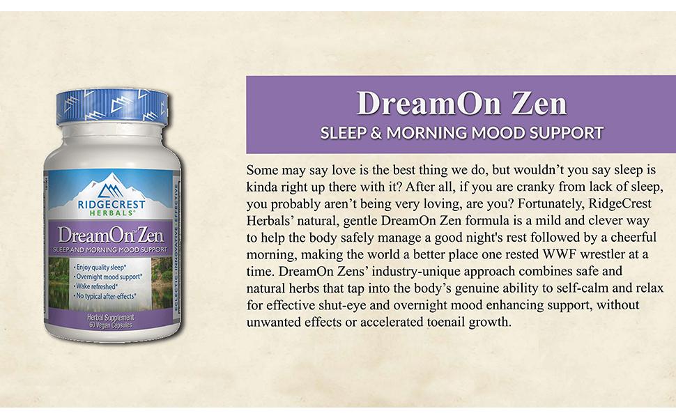 ridgecrest herbals dream on sleep aid natural herbal