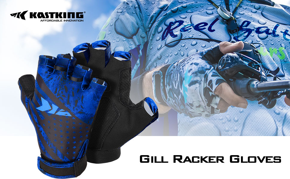 Protect your hands and stay protected from the sun in style with KastKing¡¯s Gil Raker gloves!