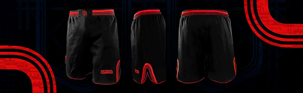 Core shorts middle