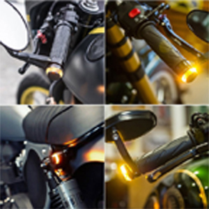 universal 22mm handle bar light