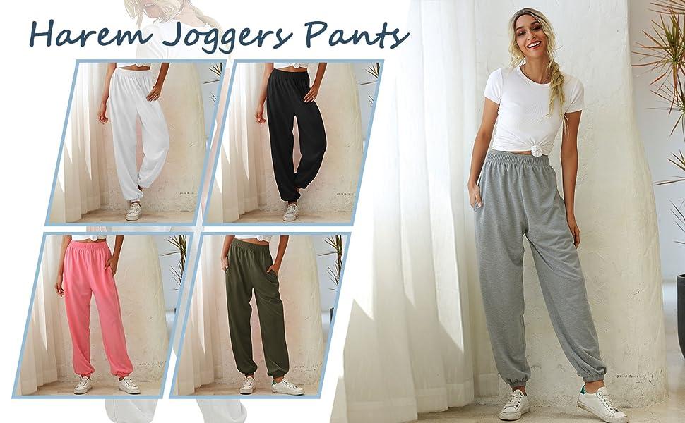 Pantalones largos de relax para mujer