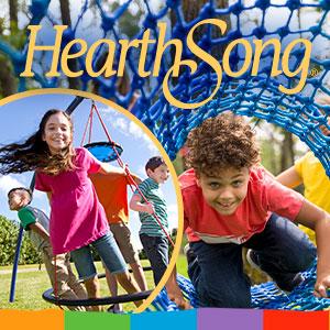 HearthSong, Hearth Song, logo, toys, kids, children, play, outdoor, indoor, active