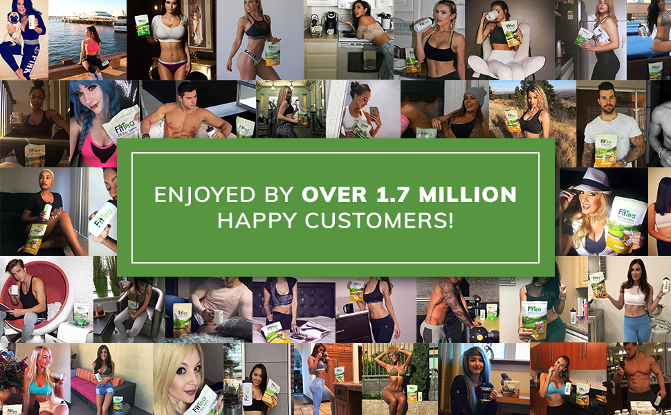 Enjoyed by over 1.7 million happy customers