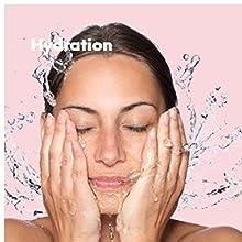 herbal essentials, hydration, moisturiser, skin moisturiser, refreshing toner, blemish treatment