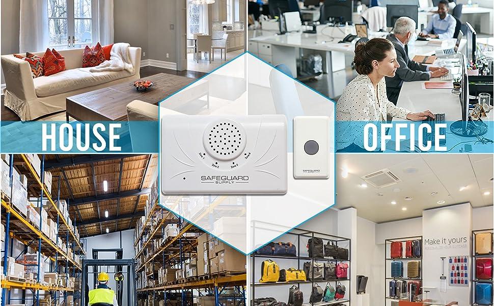 wireless_doorbell_loud_doorbell_long_range_doorbell_door_buzzer_for_business