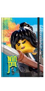 LEGO Ninjago Movie Nya Notebook Journal