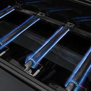 GFTIME Kit de Barbacoa Piezas de Repuesto Quemadores de Gas & Placa de Calor & Tubo Cruzado Barbacoa de Gas para Charbroil 463420507, 463420509, ...