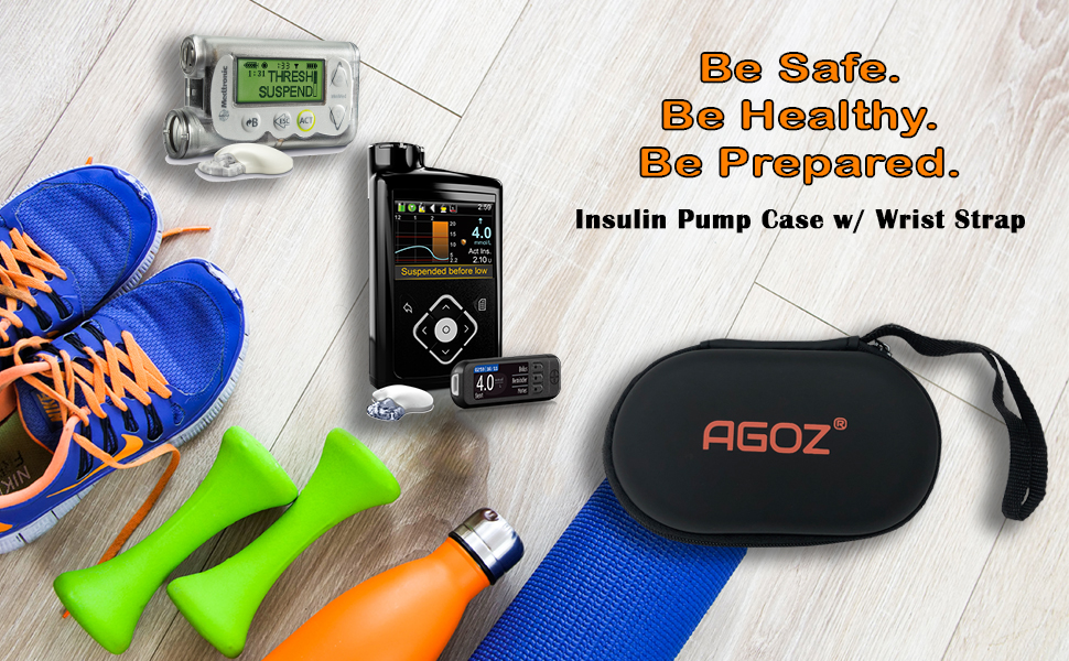 AGOZ Asthma Inhaler Zippered Protector Case Pouch Holster Cover Ventolin Proventil Symbicort Asmasal